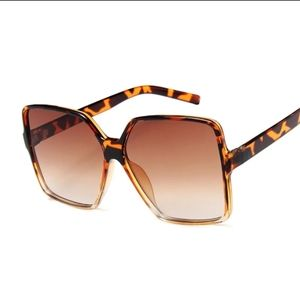 Oversized Square Sunglasses NWOT